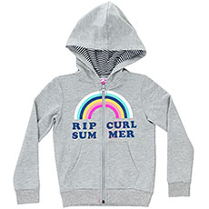 Толстовка классическая детская Rip Curl Rainbow Fleece Cement Marle