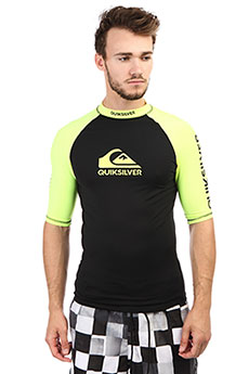 Гидрофутболка Quiksilver On Tour Ss Safety Yellow/ Black