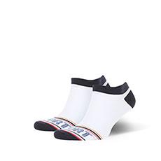 Носки низкие Запорожец Спорт Печать Белый