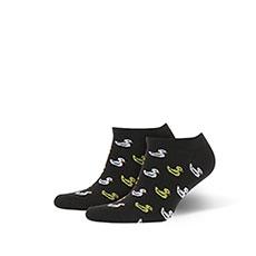 Носки низкие Запорожец Утята Черный