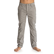Штаны прямые детские Rip Curl Basic Pant Chino Boy Neutral Grey