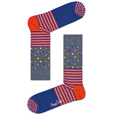 Нoски Happy Sосks Stripe Dot Soсk Sd
