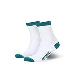 Носки средние Запорожец Утка Backside Белый/Зеленый