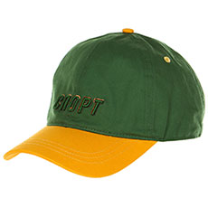 Бейсболка классическая Запорожец Sport 2 Green/Yellow