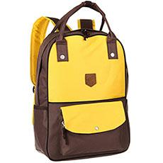 Рюкзак городской Запорожец Olimpiada 80 Yellow/Brown