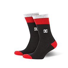 Носки средние DC Shoes To Me Two Tango Red