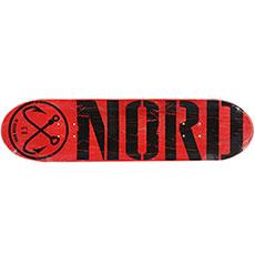 Дека для скейтборда Nord ЛОГО КЛАССИКА Black 32.5 x 8.5 (21.6 см)