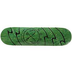 Дека для скейтборда Nord ЛОГО Green 32 x 8.375 (21.3 см)