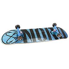 Скейтборд в сборе Nord Лого (color trucks) Blue/Black 31.75 x 8.125 (20.3 см)