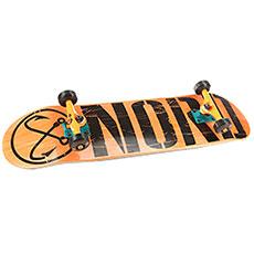Скейтборд в сборе Nord Лого (color trucks) Orange/Black 32.5 x 8.375 (21.5 см)