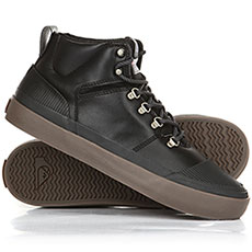 Кеды зимние QUIKSILVER Grebe Black/Grey/Brown