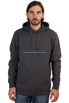 Толстовка Rip Curl L Embossed Surf Fleece Charcoal Grey