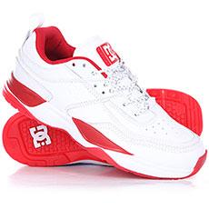 Кроссовки DC E.tribeka S Js White/Red