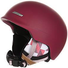 Шлем для сноуборда женский Roxy Angie Beet Red
