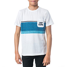 Футболка детская Rip Curl Yarn Dyed Stripe Optical White