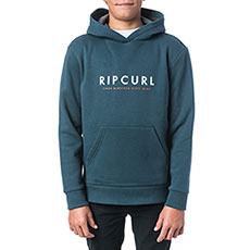 Толстовка кенгуру детская Rip Curl Basic Logo Gradian Hooded Fleece Midnight Navy