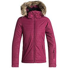 Куртка утепленная детская Roxy Jet Ski Girl Em G Snjt Beet Red_indie Strip