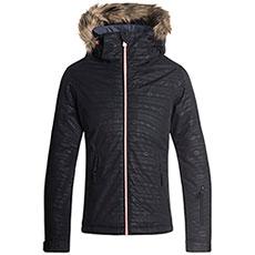 Куртка утепленная Roxy Jet Ski Girl Em G Snjt True Black_indie Str