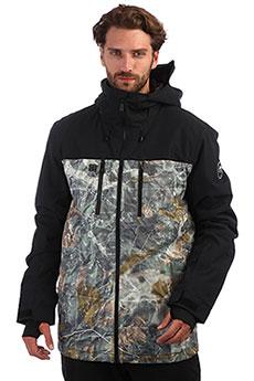 Куртка утепленная QUIKSILVER Mission Grape Leaf Tanenbaum
