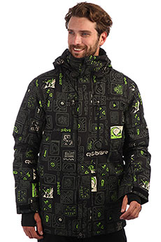 Куртка утепленная QUIKSILVER Mission Grape Leaf Kawena