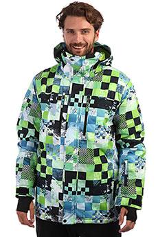 Куртка утепленная QUIKSILVER Mission Lime Green Money