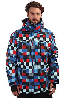 Куртка утепленная QUIKSILVER Mission Dress Blue Check