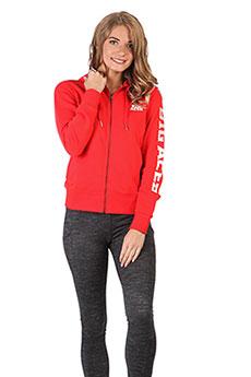 Толстовка классическая женская ANTA 86618709 Красная