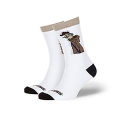 Носки Запорожец Печкин-18 Белый