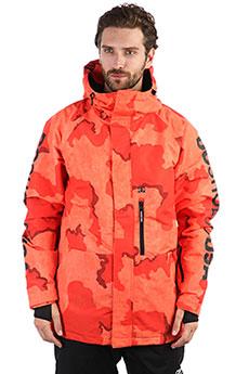 Куртка утепленная DC Ripley Red Orange Dcu Camo
