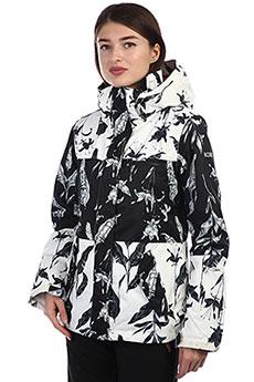 Куртка утепленная женская Roxy Rx Jetty Block True Black_love Lett