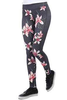 Леггинсы женские Roxy Spy Game Pant 2 Charcoal Heather Flo