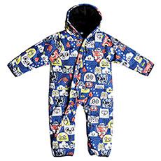 Комбинезон детский QUIKSILVER Baby Suit I Snsu Daphne Blue Animal