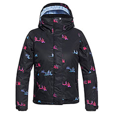 Куртка утепленная детская Roxy Jetty Girl True Black Snowsale
