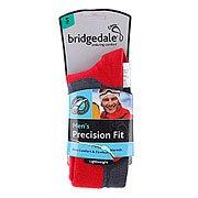 Носки сноубордические Bridgedale Precision Fit Gunmetal/Poppy
