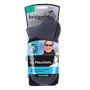 Носки сноубордические Bridgedale All Mountain Black/Grey