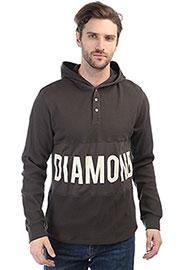 Толстовка классическая Diamond Winston Hooded Thermal Brown