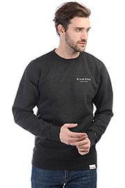 Толстовка классическая Diamond Stone Cut Crewneck Charcoal/Heather