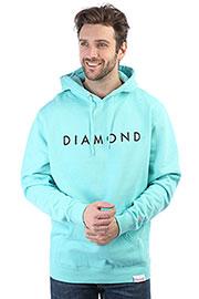 Толстовка кенгуру Diamond Futura Hoodie Blue