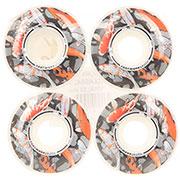 Колеса для скейтборда Footwork Carp White/Multi 101A 53 mm