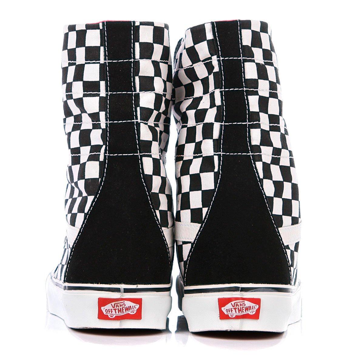 Купить кеды высокие Vans Super Sk8 Hi Black White Char Board ... 18a13360226