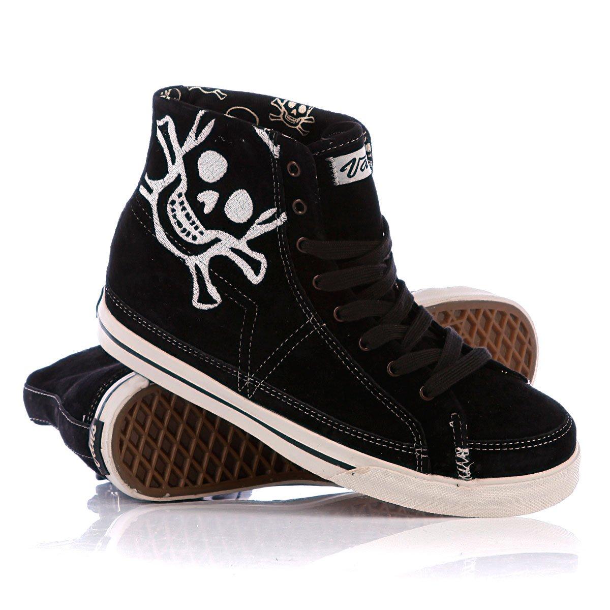 Купить кеды высокие женские Vans Lono Fog Black Foxing Stripe ... ac0593aa720