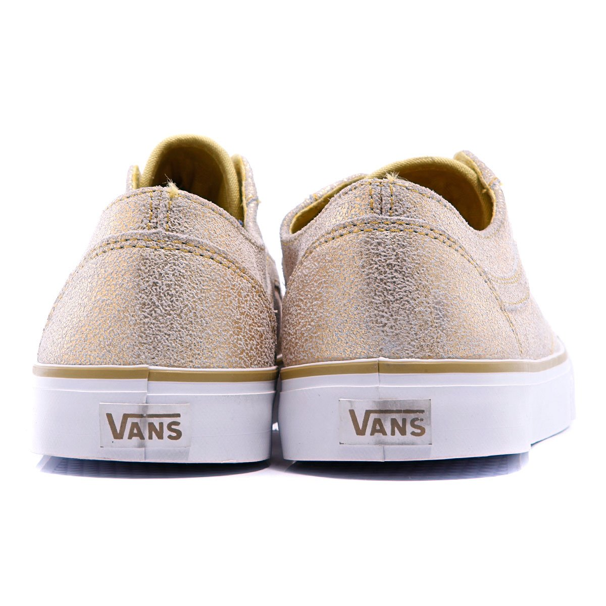 vans old skool lo pro cracked gold