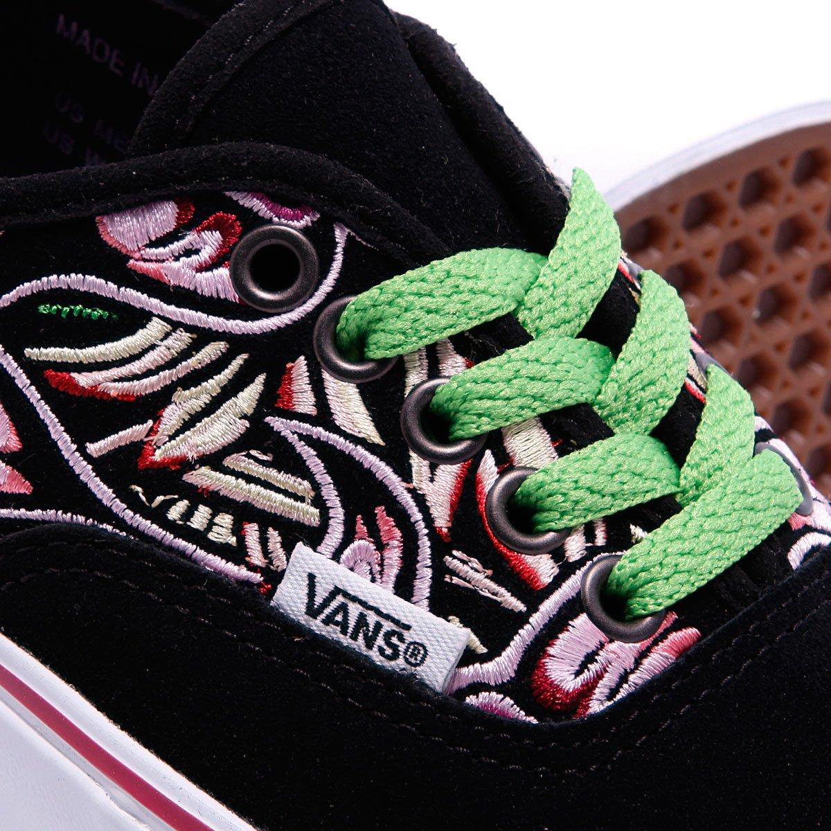57ad0c82d44d Купить кеды Vans Authentic Lx Jungle Embroidery Black/White/Rosebud ...
