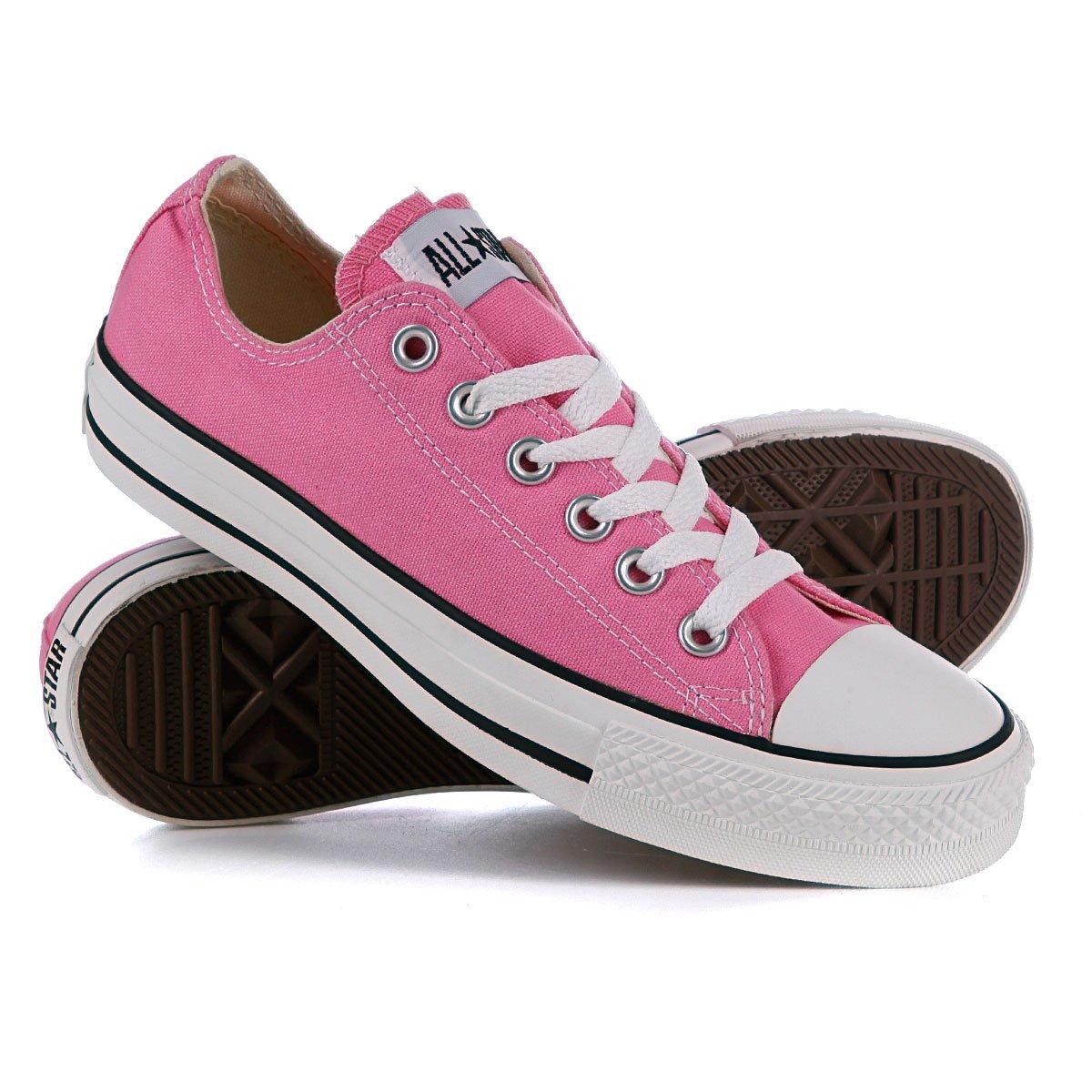 Купить кеды Converse Chuck Taylor All Star Ox Unisex M9007 Pink ... bf68abd437b