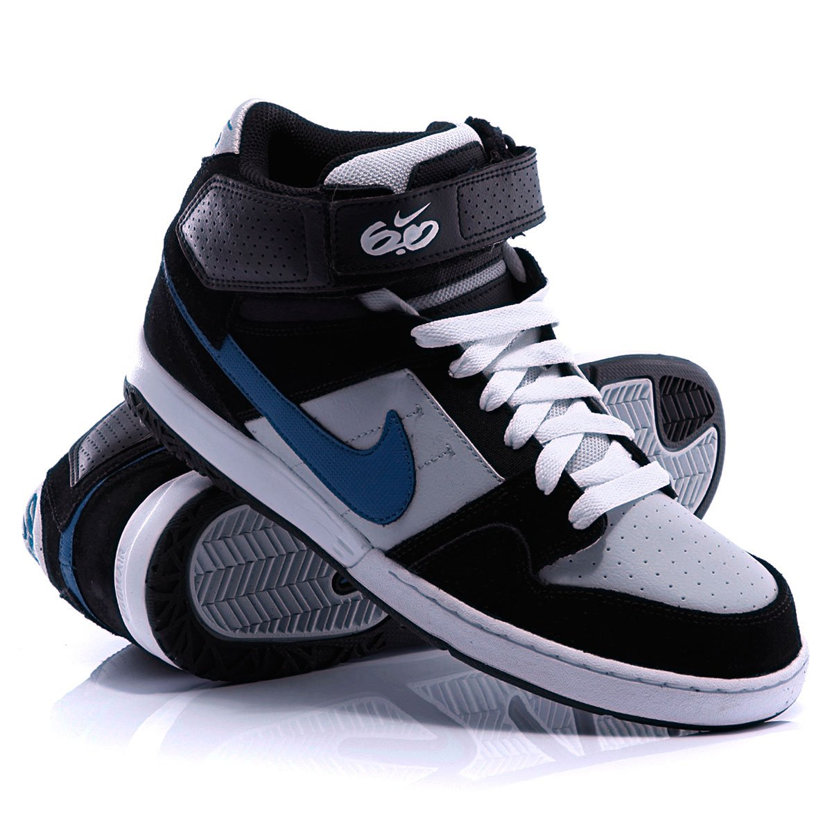 cfe841e1 Купить кеды высокие Nike Zoom Mogan Mid 2 Black/Green Abyss (407360 ...