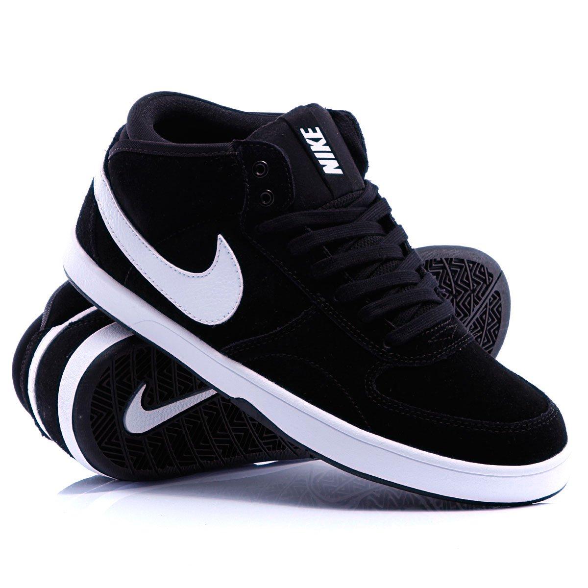 5bade691 Купить кеды высокие Nike Maverick Mid 3 Black/White (510974-010) в ...