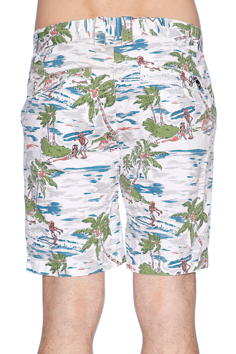 Пляжные мужские шорты Globe Dubbed Short White