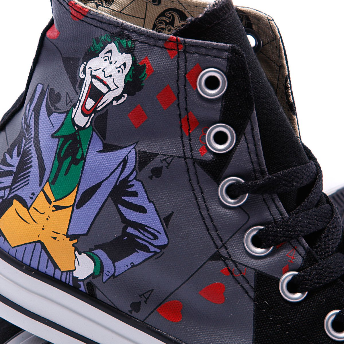 Купить кеды высокие Converse Chuck Taylor Batman Hi Black Print ... b7548669eb8