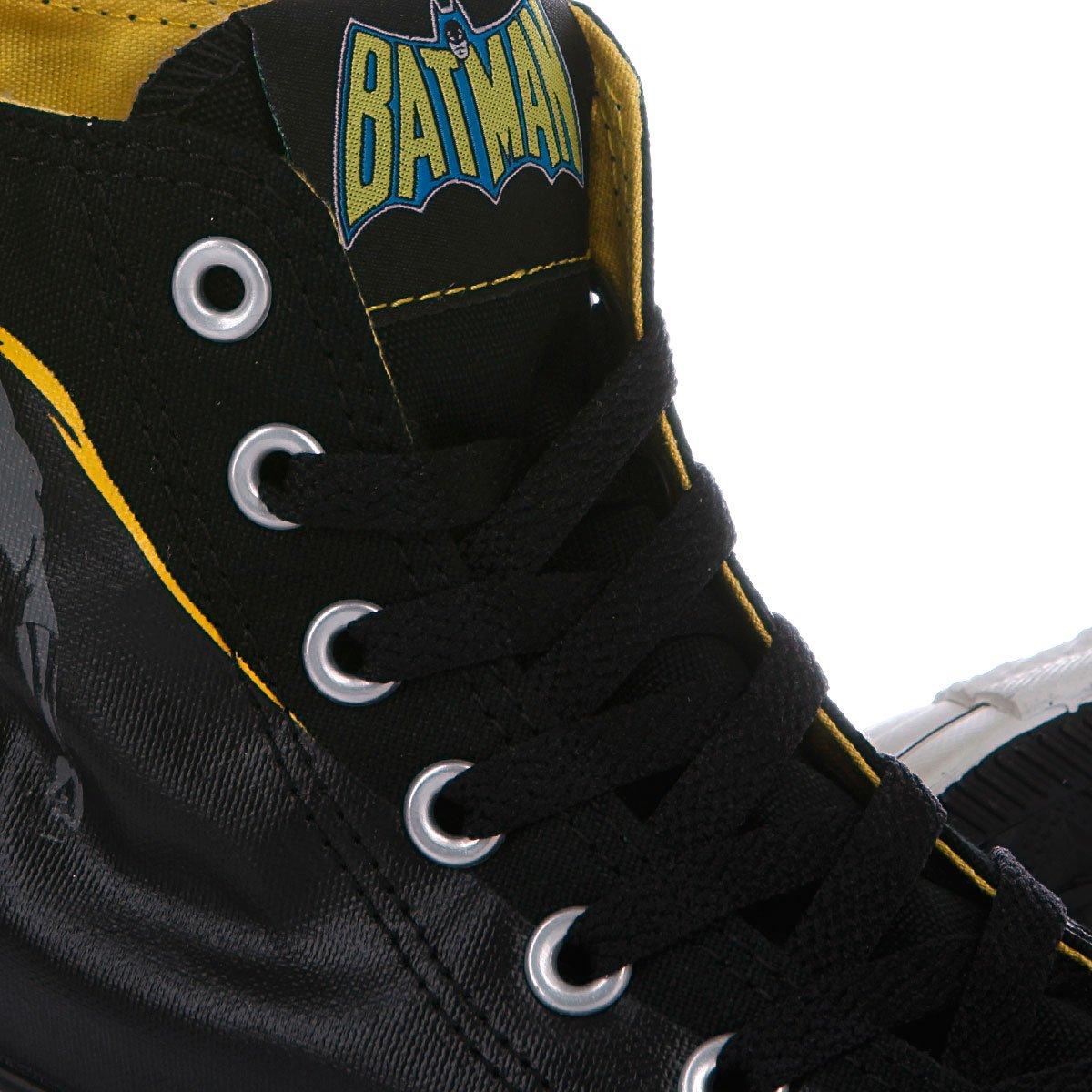Купить кеды высокие Converse Chuck Taylor Dc Batman Hi Black Yellow ... e4cdbc008caa4
