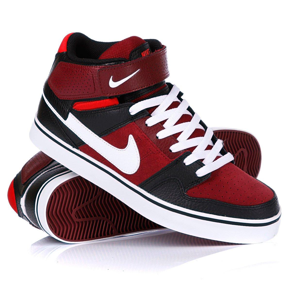 1fee91082aab Купить кеды высокие Nike Mogan Mid 2 SE Team Red White (487944-610 ...
